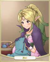 Knitting Nowi by Nowiismywife