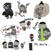 L4D: Undead Doodles by SugarKills