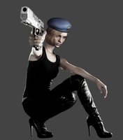 The witness events Raccoon City. Jill Valentine by Taitiii