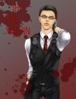 Joseph @ The Evil Within by ZiarZyniX