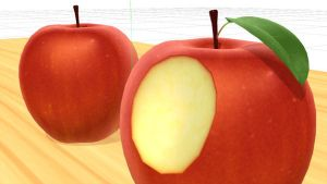 Realistic Apple Model MMD Download by Hack-Girl