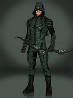 Green Arrow (CW) by Sticklove