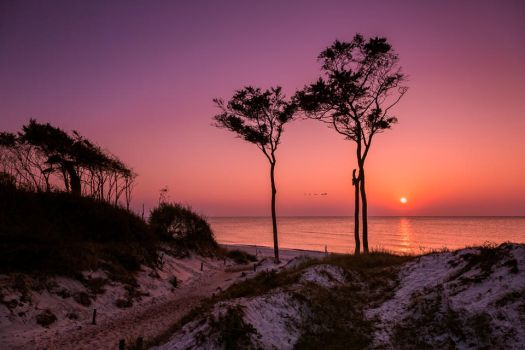 Western Beach, Baltic Sea by hessbeck-fotografix