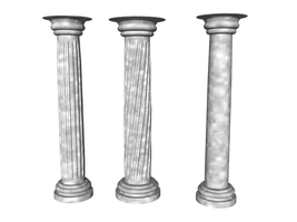 Columns by lish-stock