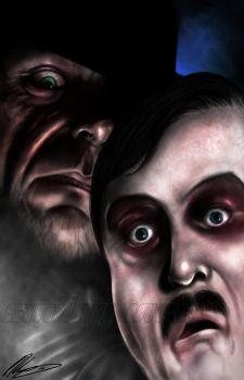 The Undertaker and Paul Bearer by CSM-101