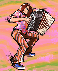 'Weird Al' Yankovic by fluffySlipper