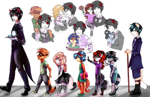 Black Butler :: Sly Cooper AU by o-Ironical-O