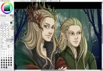 Wip: Forest elves by Kimir-Ra