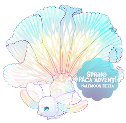 { Spring Paca-advent Day 3 } Halfmoon (Over!) by Zoomutt