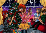 HnM Give me back my gingerbreadman SS by PinkPoink