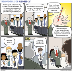 The Adventures of Business Cat - Graduation by tomfonder