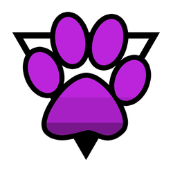 Asexuality Furry Symbol v2 by asexual-deviants
