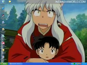 Inuyasha and Sota by Mangahearts