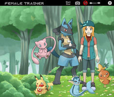 PkmnTrainer 001 by WillowstreamHP
