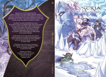 Tome 3 Couverture Mystria by Nee-k