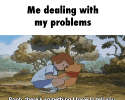 me dealing my problems by jjp158