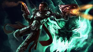 Dragonslayer Lucian by Dragonflamebg