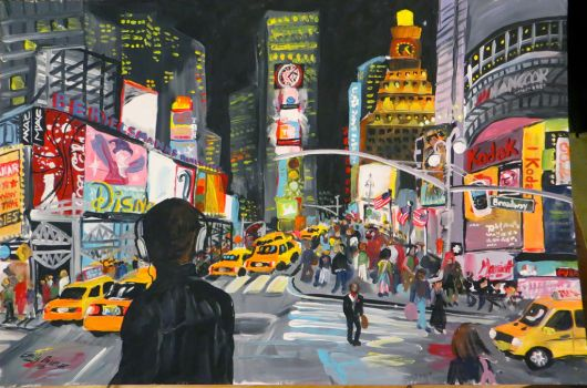 The City That Never Sleeps by Barefoot-Seeker
