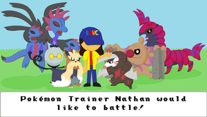 Pokemon Trainer Nathan