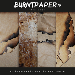 Burnt Paper // TEXTURES by FranceEditions