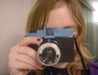 me and my new camera by FBR-FAN