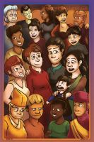 The Ladies of DS9 by bugbyte