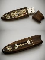 Mechanical USB Memory Key No14 by back2root
