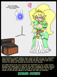 LoZ - Link's Crown Curse - Game Over by GuyBcaps