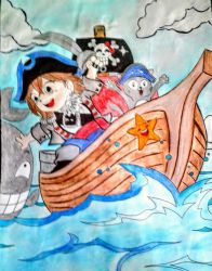 Anime Pirates by stacylyn