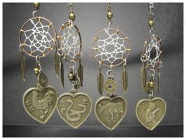 Chinese Zodiac - keychains by SaQe