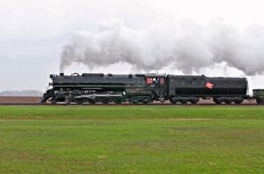 Old Steam Train 261 by ROGUE-RATTLESNAKE