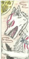 Okami Bookmark by DL2288