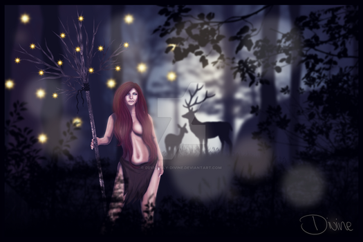 Keeper of the Woods by Deviously-Divine