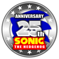 Sonic 25th Anniversary Logo Recreation by DjSMP