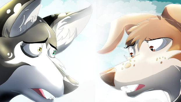 Sky and Lily by EpicSaveRoom