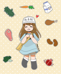Little Platelet! (Animated GIF) by mgcoco