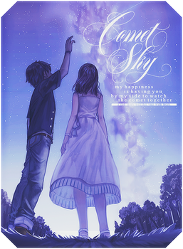 [ Book cover ] Comet Sky by Fris-chan