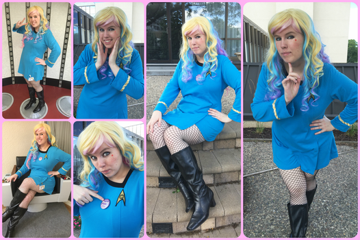 My Cosplay_Ensign Sue by MevrouwRoze