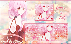 Tagwall Inori by XxAjisai-GraphicxX