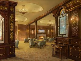 1st Class Smoking Saloon by novtilus