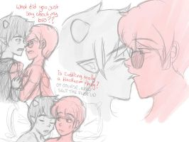 Davekat doodles by QuiteRomantic