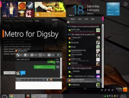Metro for Digsby by edios