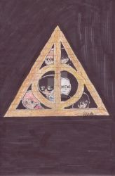 Harry Potter and the Deathly Hallows Part 2 Poster by jasmineweasley