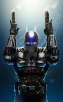 ARKHAM KNIGHT (Colored) by grandizer05
