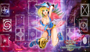 Playmat Yugioh 2017 Dark Magician Girl by Yugi-Master