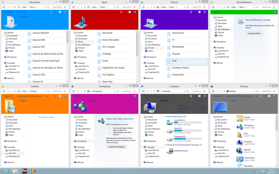 Windows 7 Layout on Windows 8 (PREVIEW 3) by Artur89SD