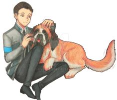 <b>Connor With Sumo</b><br><i>VOILET14</i>