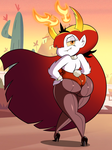 Commission: Easter Bunny Hekapoo by grimphantom