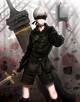9S by ReizDrawing
