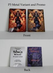 Witchcraft P3 Promo + Metal Variant SOLD OUT by Pernastudios